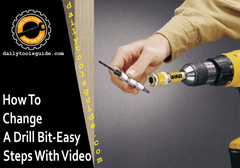 Change a Drill Bit-Easy Steps With Video