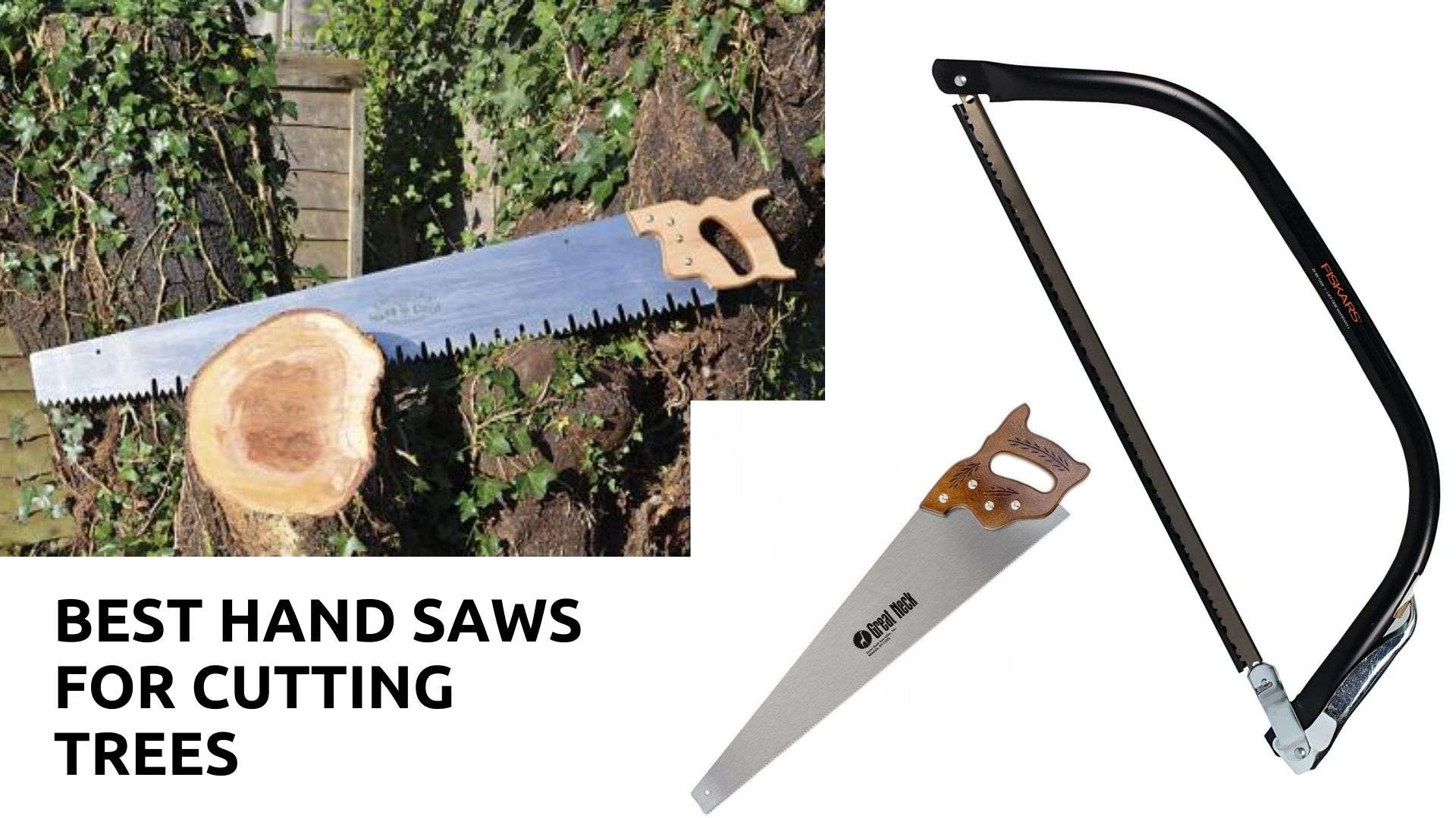 best hand saws for cutting trees