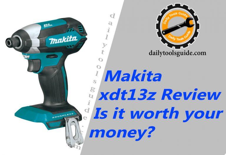Makita xdt13z Review