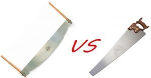 Differences between Crosscut saw and Rip Saw (Crosscut vs. Rip Saw)