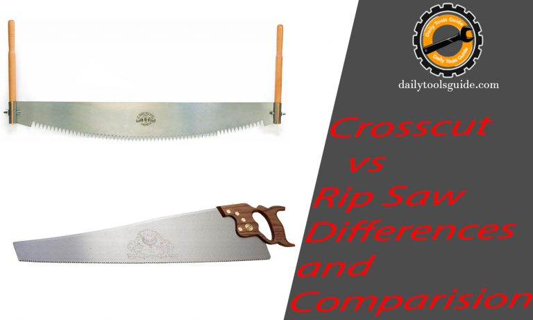 crosscut vs rip saw differences and comparision