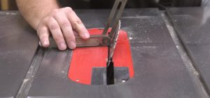 Set the Right Miter and Bevel Angle cut crown with a compound miter saw